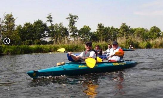 Kayak Tour In Kotzen, Germany