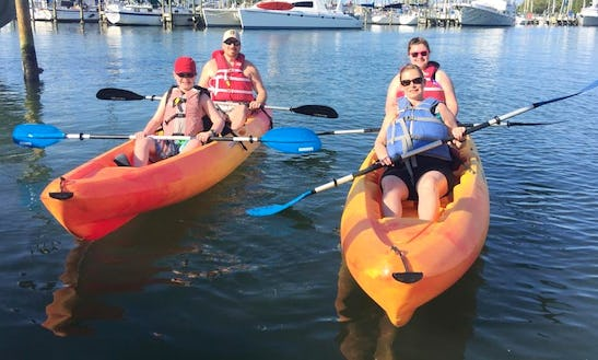 Double Kayak  Lesson In Gulfport