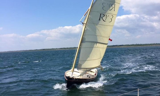 Flame Sailing Lessons In Lymington