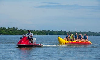 Banana Rides in Port Blair! Perfect for thrill seekers!