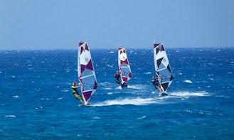 Windsurfing in Lasithi