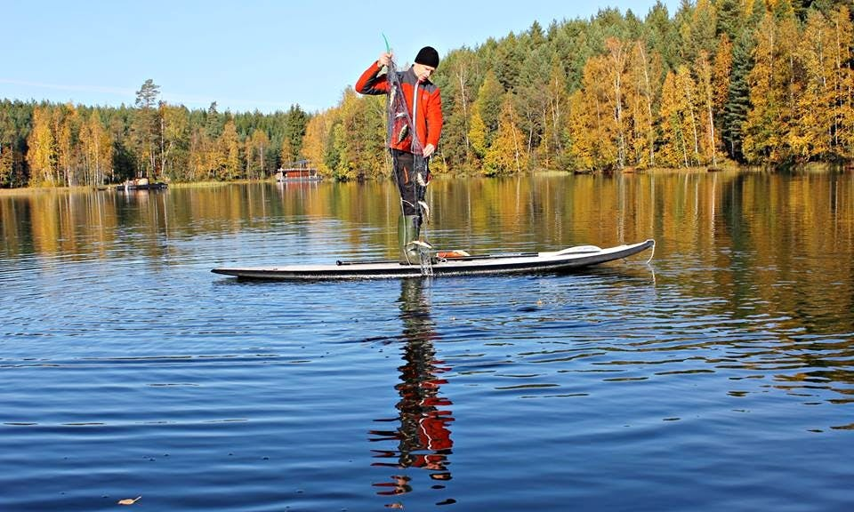 SUP Adventure in Loppi, Finland
