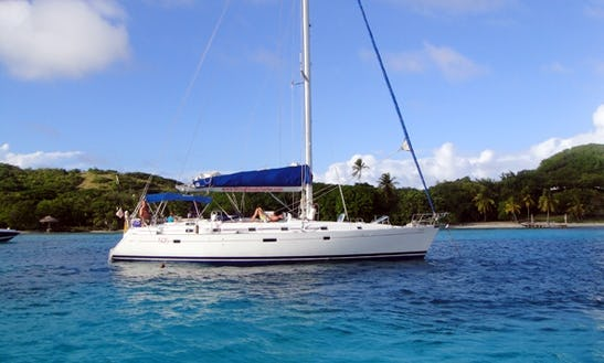 Beneteau 505 Cruising In Gros Islet, Saint Lucia
