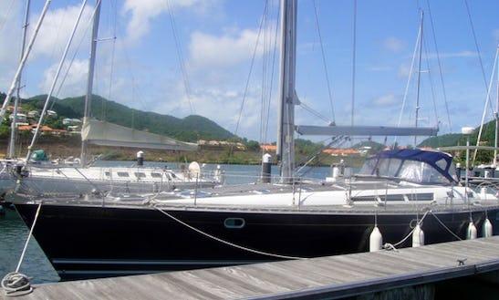 Beneteau 44 Cruising Monohull Charters In Gros Islet, Saint Lucia