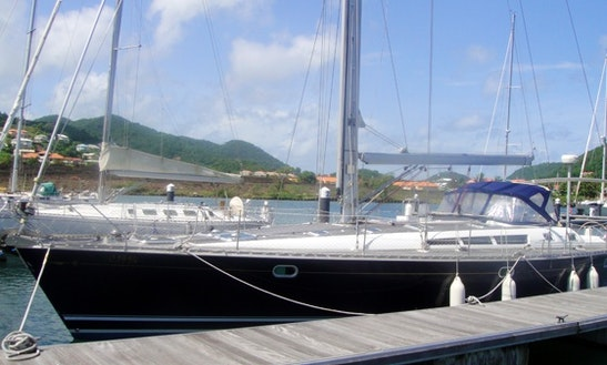 Beneteau 44 Cruising Monohull Charters In Gros Islet, Saint Lucia
