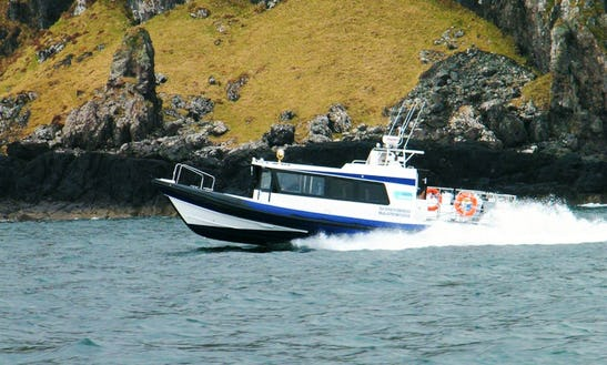 39' Cabin Rigid Inflatable Speed Boat In Oban