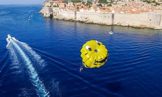 Parasailing Adventure In Dubrovnik, Croatia