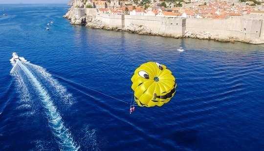 Parasailing Adventure In Dubrovnik, Croatia