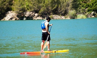 Rent a Paddleboard to Explore the waterways of Figueroles, Spain