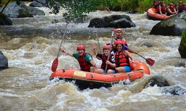 Rafting in Petang