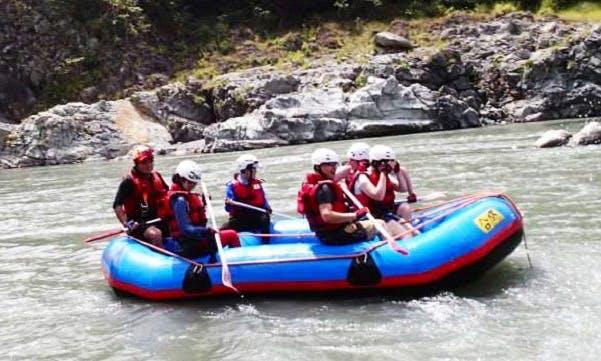 Rafting in Zhongli District