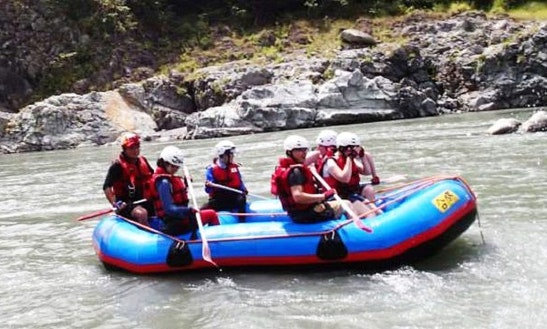 Rafting In Zhongli District