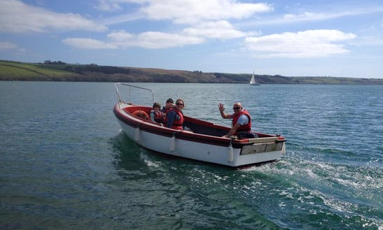 16ft Motor Boat Hire In Feock