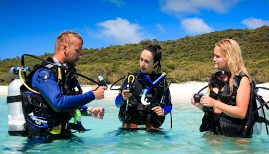 Scuba Diving Lessons In Bali