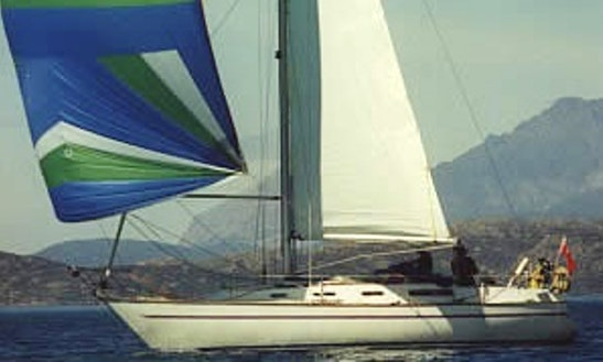 34' Cruising Monohull Charter & Courses In Troon, United Kingdom