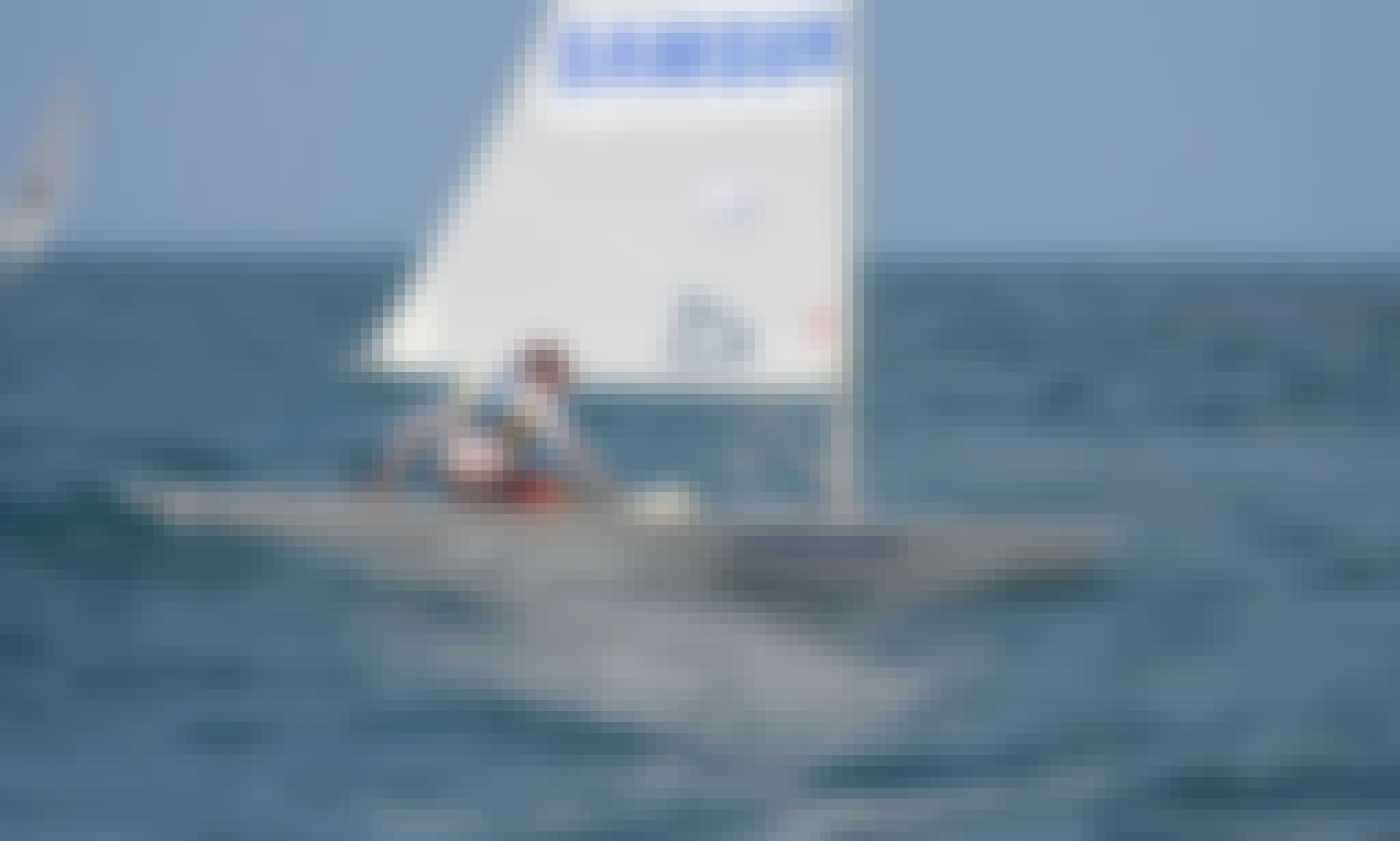 'LASER Standard' Rental and Sailing Lessons at the Lebanese Yacht club