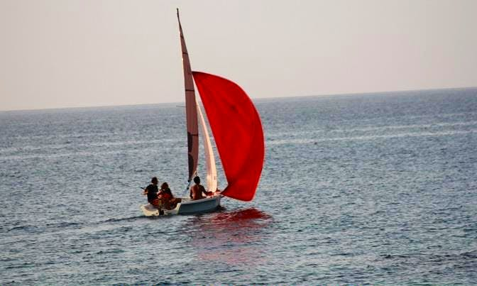 'Laser Bahia' Rental and Sailing Lessons in Thoum