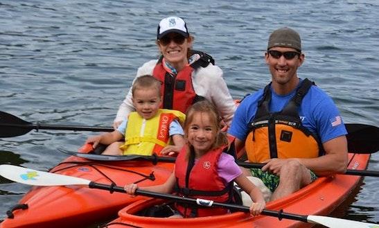 Double Kayak Rental In Hoodsport