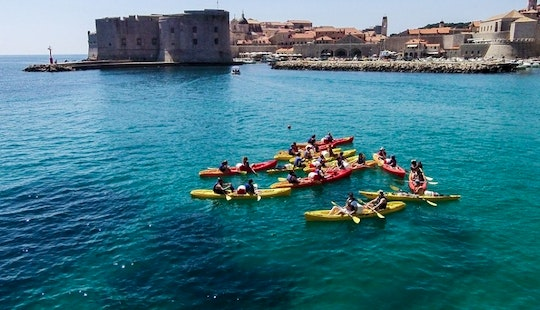 Affordable 2 Person Kayak Hire In Dubrovnik, Croatia