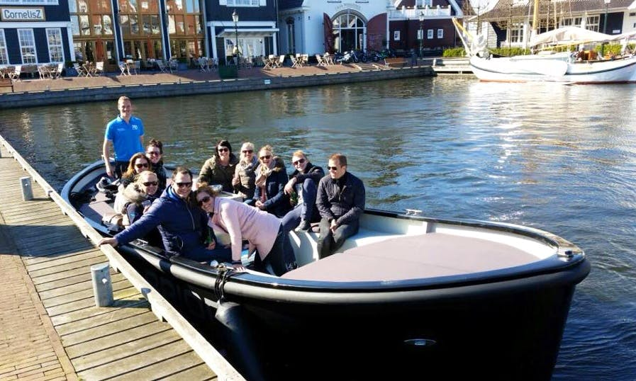 'Gooische Arion' Boat Hire in Huizen