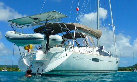 42' Sun Odyssey Sailing Yacht In Martinique