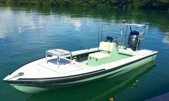 18' Hells Bay Marquesa Fishing Trips In Key Biscayne