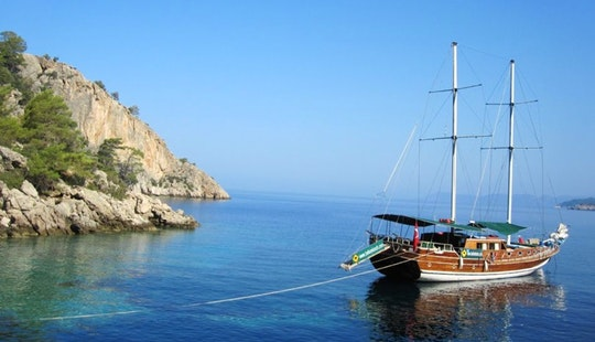 Boat Trips In Turkey With Captain Ahamat