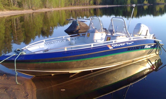 'silver Fox' Powerboat Rental In Kajaani