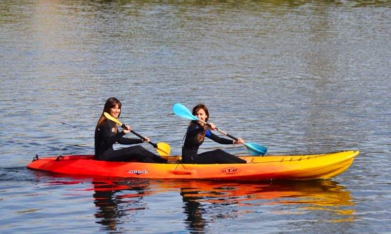 Kayak Adventures to Pas River in Oruna de Pielagos, Spain