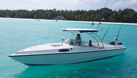 24' Motor Yacht Charter In Male Male, Maldives