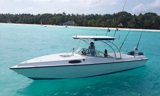 24' Motor Yacht Charter In Male Male, Maldives