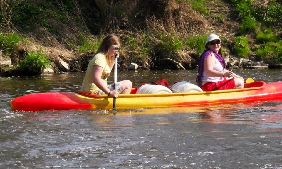 Double Canoe Rental in Czech Republic