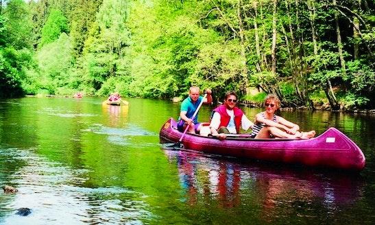 'canoe Gatz' Rental And Trips In Vyšší Brod