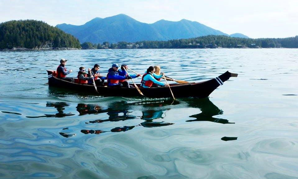 Row boat Tour in Tofino