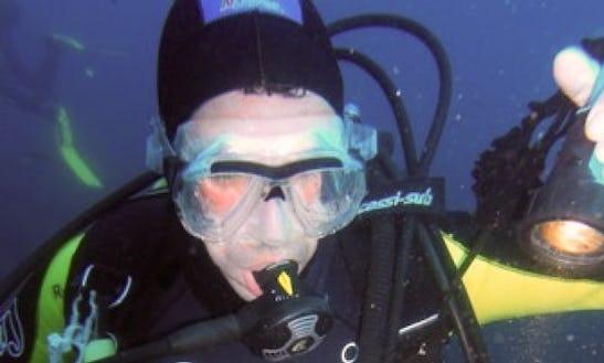 Diving In Ponta Delgada,