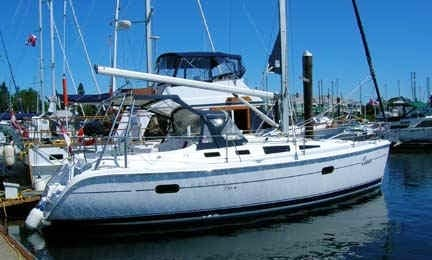 "Hunter 356 ""Oscar"" Sailing Yacht In Comox"