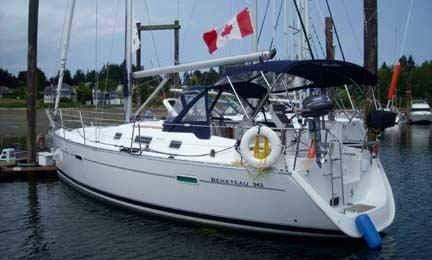 "Beneteau 343 ""Lila"" Sailing Yacht In Comox"