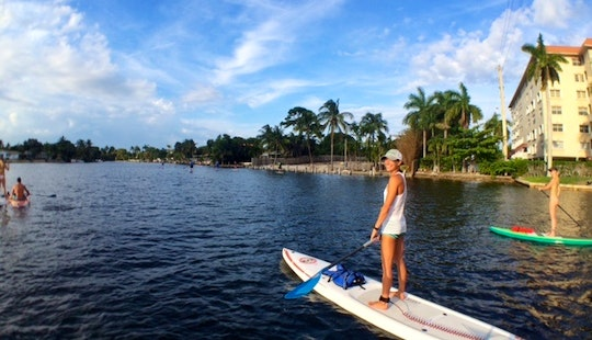Stand Up Paddleboarding In Fort Lauderdale, Florida