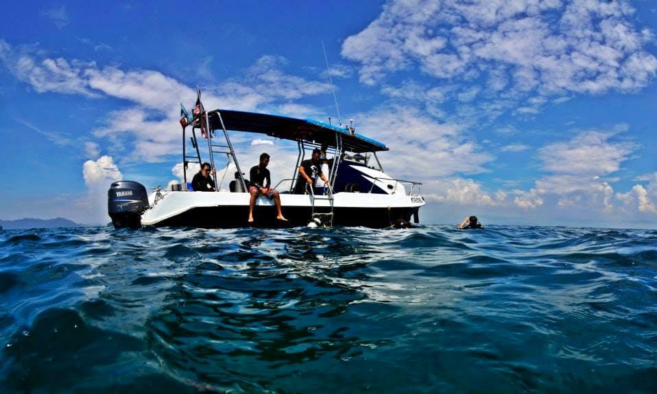 Scuba Lessons in Kota Kinabalu - boat transfer included!