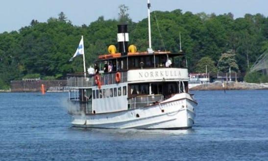 S/s Norrkulla Boat Charter In Helsinki