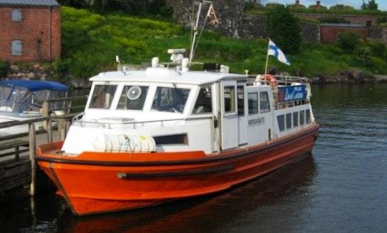 M/s Merisaraste Boat Charter  In Helsinki