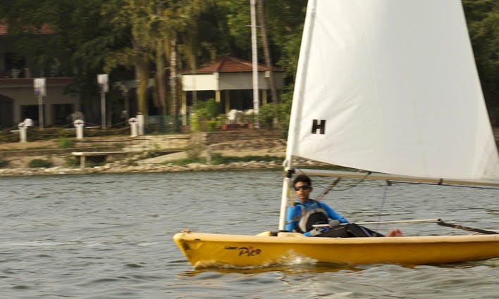 'Laser Pico' Sailing Lessons in Hyderabad