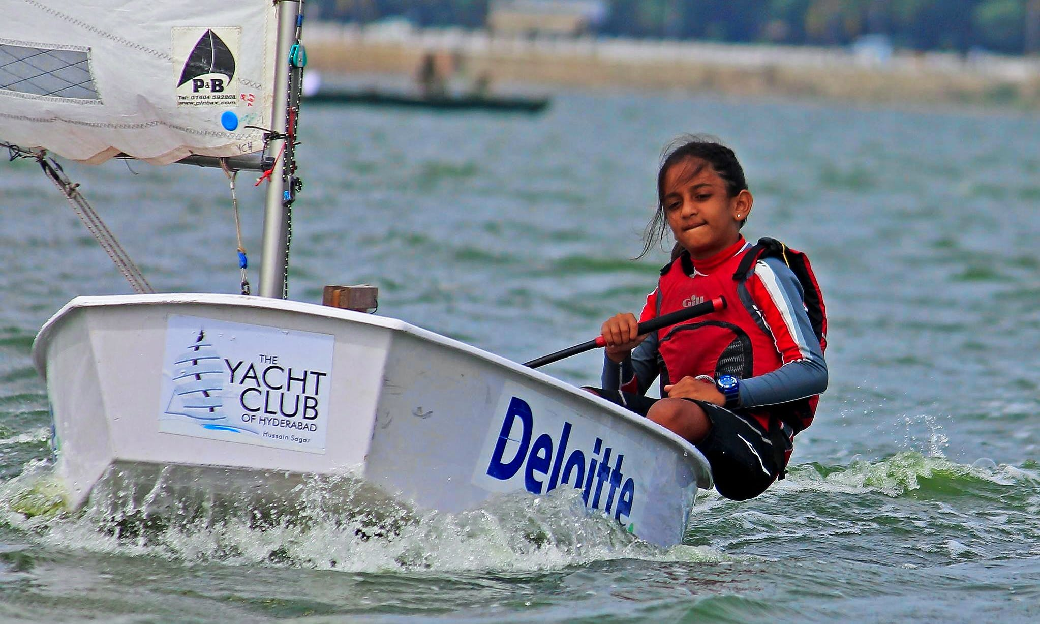 'Optimists' Sailing Lessons in Hyderabad