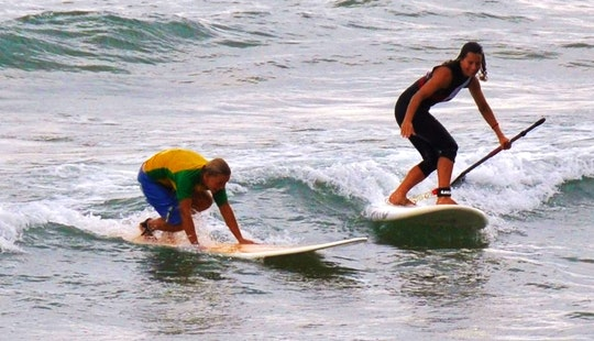 Paddleboard Tour And Lessons In Vieste