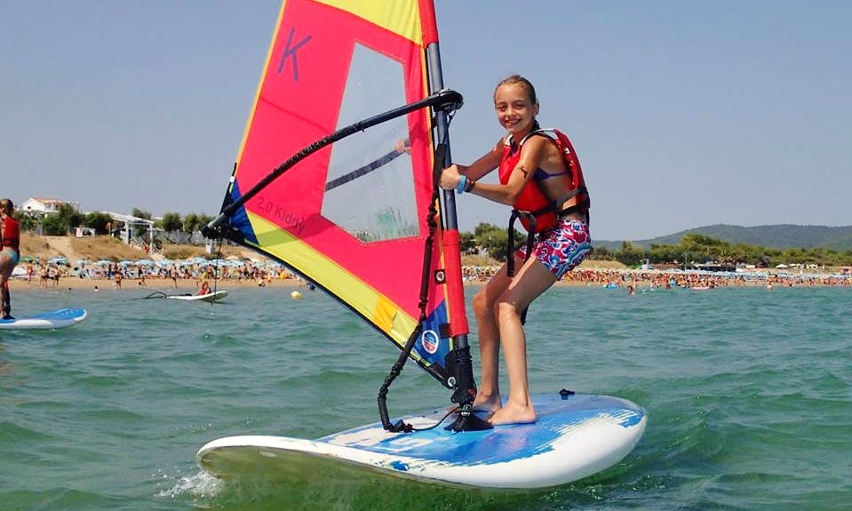 Windsurfing Tour and Lesson in Vieste