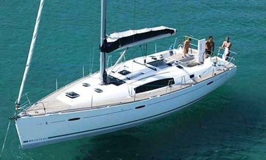 Cruise Aboard The Stunning Oceanis 43 Sailing Yacht For 6 Person In Chalkidiki, Greece