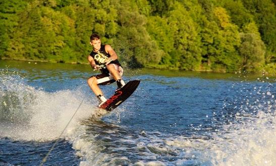 Wakeboarding In Davle