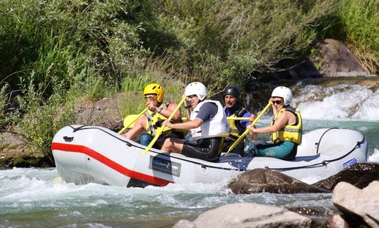 Daily Rafting Trips In Cavalese