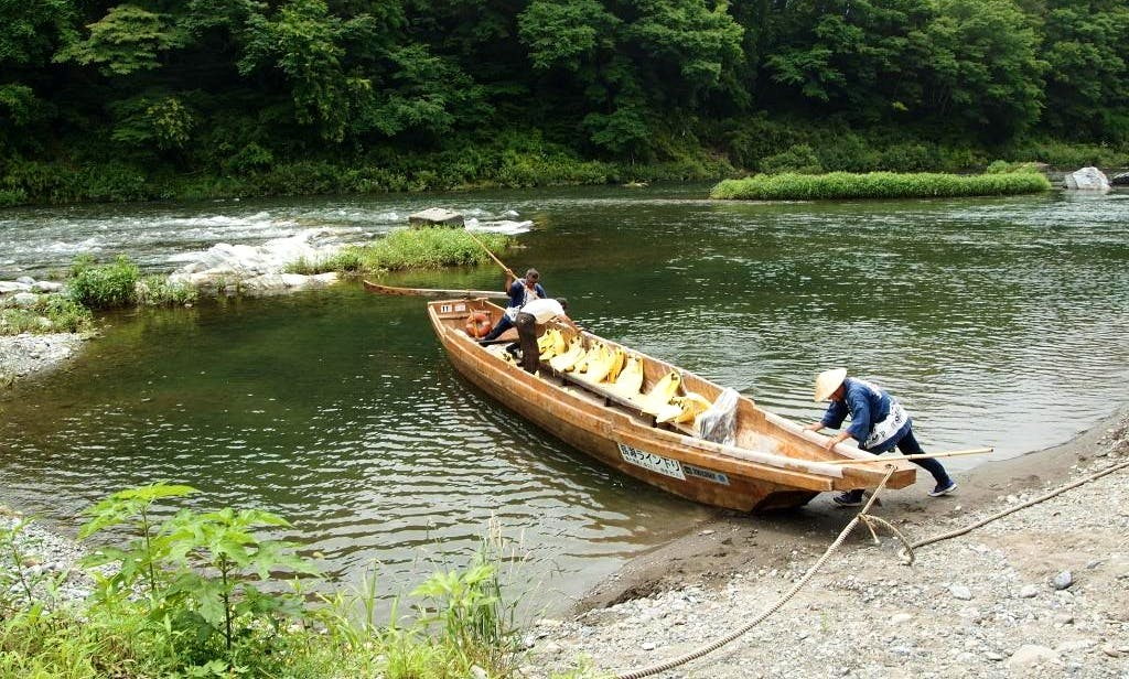 Rafting in Nagatoro-machi