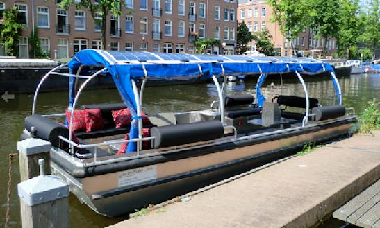 Enjoy Amsterdam, Netherlands On 21ft
